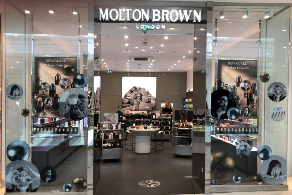 Newton Wood® at Molton Brown in The Glades, Bromley